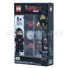 <b>Часы Lego Ninjago Movie</b> Наручные с минифигурой Kai на ...
