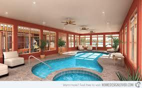 glass windows amazing indoor pool house
