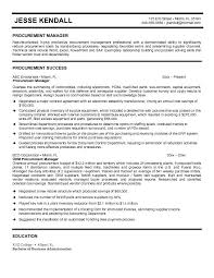 manager resume sample supply  seangarrette c ager