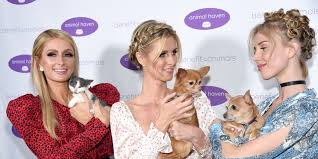 Tessa Hilton Joins Paris and Nicky to Hold <b>Cute Animals</b> | W Magazine
