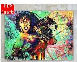 OIL PAINTING <b>MODERN WALL</b> DECO ART CANVAS,<b>Wonder</b> ...
