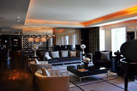 bathroom suite mandarin: mandarin oriental las vegas emperor suite living room