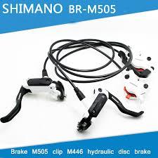 SHIMANO M505 <b>MTB Bike Hydraulic Disc</b> Brake Set Clamp ...