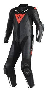 Dainese Laguna Seca 4 <b>Black</b> Red <b>1pc</b> Suit   <b>Motorcycle</b> ...