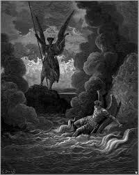 ulysses poem satan rises from the burning lake 1866 by gustave doreacute a critical interpretation of the poem compares ulysses final sentiments satan s courage