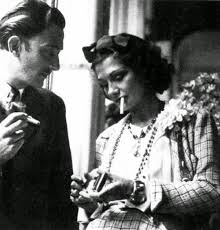 coco chanel and salvador dali share a smoke in oldschoolcool coco chanel and salvador dali share a smoke in 1938