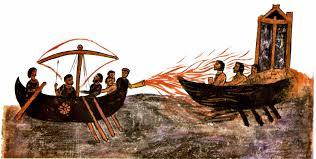 Resultado de imagen de el fuego griego