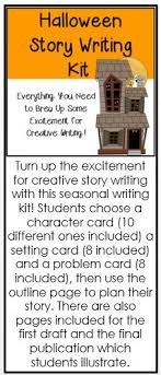 Give your child a fun way to polish his writing skills with a Halloween story starter  Hell get to make up his own scary story and get a creativity boost