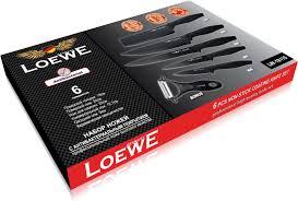 <b>Набор ножей</b> 6 предметов <b>c</b> антибактериальным покрытием ...