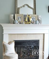 home decor canada spring front canadian bloggers home tour a pop of pretty summer mantel