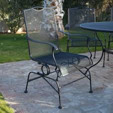 hand painted ceramic patio table wrought iron patio furniture khml sl  wrought iron patio furniture