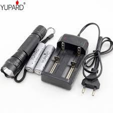 <b>YUPARD</b> Brightness <b>XM</b>-<b>L T6 LED</b> Flashlight +<b>2</b> x 18650 2200mAh ...