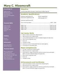 a resume template  powerful formats see detailed information for 15 tabular resume samples