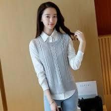 <b>LHZSYY Autumn</b> Winter New O-collar Fashion <b>Cashmere Sweater</b> ...