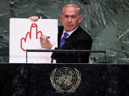 Israeli PM's cartoon bomb at UN sparks Internet meme via Relatably.com