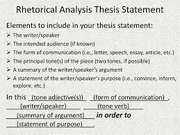 how to write a rhetorical essay resume templates functional    rhetorical analysis essay thesis example