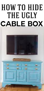 Hide Tv In Wall Installing A Swivel Tv Mount And Hiding Tv Cords Cable Box In
