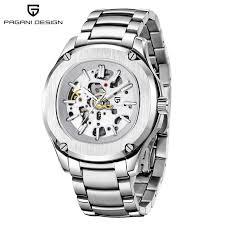 <b>PAGANI DESIGN</b> Automatic Watches Mens Luxury Brand ...