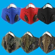 1Pcs Male and Female <b>Activated Carbon Dustproof Bicycle</b> Mask ...