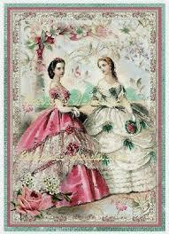 French <b>Fashion</b> Ladies A Designer <b>Collage Cotton</b> Fabric Quilt Block
