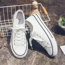 Spring and autumn men's shoes tide shoes white canvas ... - Vova