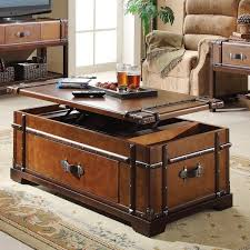 perfect trunk as coffee table on steamer trunk coffee lift top table review trunk as coffee awesome tree trunk table 1