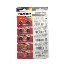 <b>30pcs</b>/<b>lot</b> Panasonic 1.5V <b>AG10</b> LR1130 Alkaline <b>AG10</b> 389 LR54 ...
