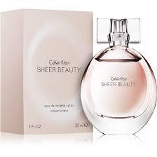 Женская парфюмерия <b>CALVIN KLEIN</b> Sheer <b>Beauty</b> – купить в ...
