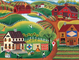 CHERYL BARTLEY                       DESIGNS, American folk art. Easy type of art for                       you to do, easy to sell for big money.