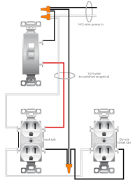 wiring a switched outlet wiring diagram   electrical onlinewiring a switched outlet wiring diagram