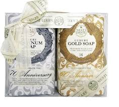 NESTI DANTE Набор <b>мыла</b> для тела (юбилейное золотое + ...