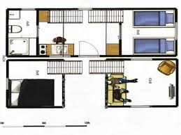 images about Tiny House Floor Plans on Pinterest   Tiny    tiny house plans   portable tiny house on trailer  Total of sq ft of floor space     I would move stairs to loft and put it from living room to loft