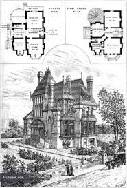 ideas about Victorian House Plans on Pinterest   House plans    Victorian Gothic Revival House  floor plan  Upper Norwood  London  Architect Sextus