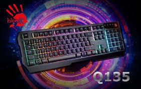 <b>A4Tech Bloody Q135</b> Neon: недорогая яркая <b>клавиатура</b> с ...