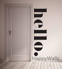 Hello Home <b>Family Quote Wall Sticker Family Quote Wall Decal</b> ...