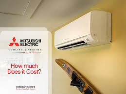 Mitsubishi Ductless How Much Does A Mitsubishi Split Air Conditioner Cost