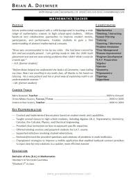 professionally written teacher resume example resumebaking