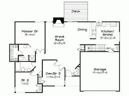 Eplans Cottage House Plan   Two Bedroom Cottage   Square Feet    Level