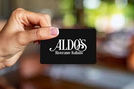 Aldo's Gift Card — Aldo's Ristorante Italiano