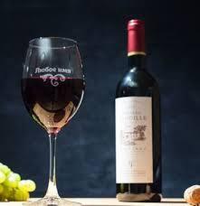 <b>Именные бокалы для вина</b> с гравировкой - Оригинальные подарки