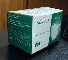 China <b>Kn95 5ply</b> Air Purifying Disposable <b>Protective Face Mask</b> ...