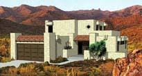 Southwestern Style House Plans   Adobe Home Plans   Pueblo Style    ORDER this house plan  Click on Picture for Complete Info