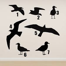 Small Picture seagull vinyl wall sticker by oakdene designs notonthehighstreetcom