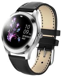 Купить <b>Часы KingWear KW10</b> черная кожа по низкой цене с ...