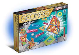 Магнитный <b>конструктор GEOMAG Glitter 68</b> деталей [533]