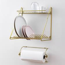 perfect dish drying full size of  cool brass kitchen dish drying rack top rack for cups an