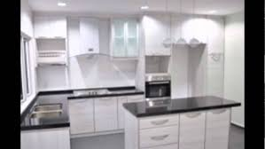 Kitchen Cabinet Bar Handles White Kitchen Cabinets Without Handles Youtube