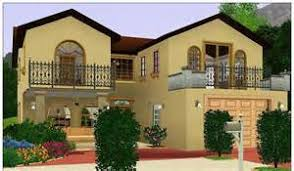Sims Modern House Ideas   Narrow Block House Plans          Sims Modern House Ideas   Sims Mansion Floor Plan Houses