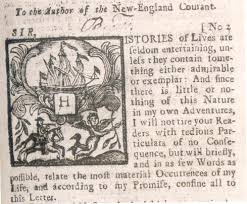 benjamin franklin writer and printer  the printer as writerthe new england courant –    published by james and benjamin franklin