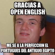 Meme Stoner Stanley - gracias a open english me se a la perfeccion ... via Relatably.com